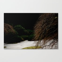 JAPANESE DEW DROPS Canvas Print