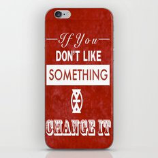 Change It iPhone & iPod Skin