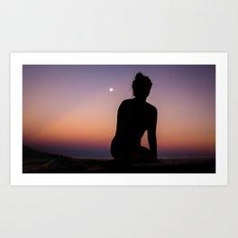 Eastern Moonrise Art Print