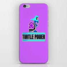 Turtle Power iPhone & iPod Skin