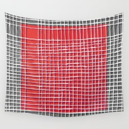 Left - gray Wall Tapestry