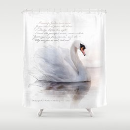 The Swan Princess Shower Curtain