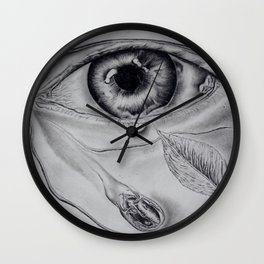 Beauty lies in the eye of the beholder Wall Clock