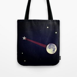 Moon Banjo Tote Bag