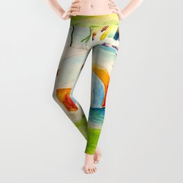 Camp Longhorn - The Blob Leggings
