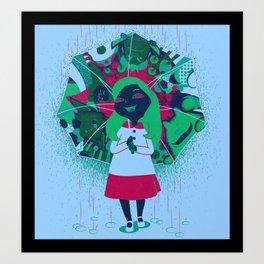 Alice's Wonder Gift Art Print