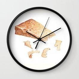 Parmigiano-Reggiano Cheese Wall Clock