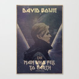 David Bowie The man who fell to earth Canvas Print