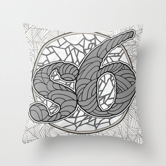 s6 Tee 1 Throw Pillow