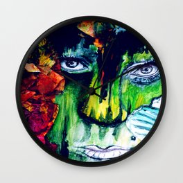 Two Tickets to Paradise Wall Clock