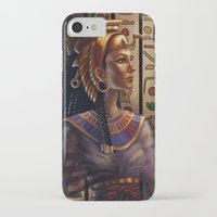 egyptian iPhone & iPod Cases featuring Egyptian by Ayu Marques