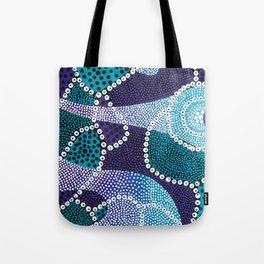 PsychePurple Rain Tote Bag