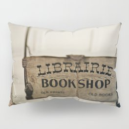 Librairie Bookshop Pillow Sham