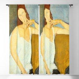 Amedeo Modigliani - Jeanne Hébuterne Blackout Curtain