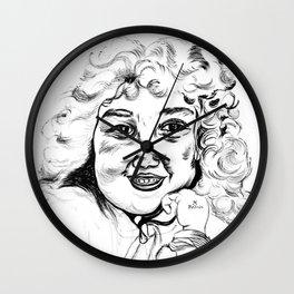 Little prodigy girl Wall Clock