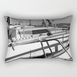 On the harbor, Le Touquet Rectangular Pillow
