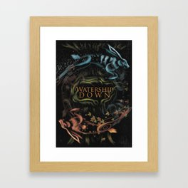 Watership Down alternative cover Framed Art Print