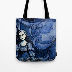 The Tempest - Miranda - Shakespeare Folio Illustration Tote Bag