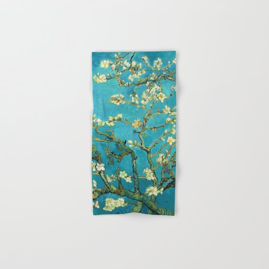 Vincent Van Gogh Blossoming Almond Tree Hand & Bath Towel