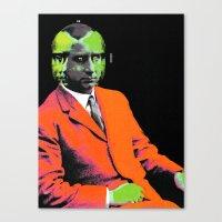 hologram Canvas Prints featuring hologram by A B O V E B E L O W