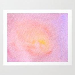 Atardecer Art Print