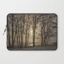 Against the winter sun Laptop Sleeve