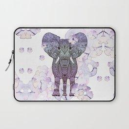 FLOWER SHOWER ELEPHANT Laptop Sleeve