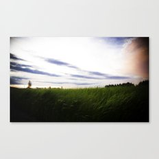 Darkness Canvas Print