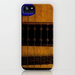 Blue Plectrum iPhone Case