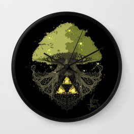 Deku Tree Full Colour Wall Clock