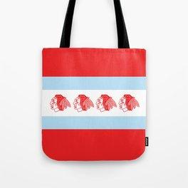 Hawks Flag Tote Bag
