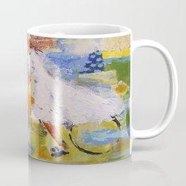 Girl and bicycle Coffee Mug