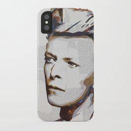 Bowie (colour) iPhone Case
