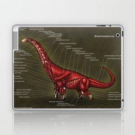 Brachiosaurus Muscle Anatomy Laptop & iPad Skin