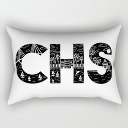 Charleson Landscape Doodle Rectangular Pillow
