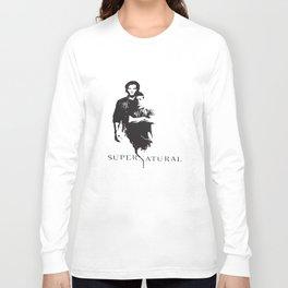 Supernatural Men's Women's Dean And Sam Winchester Brothers Supernatural T-Shirts Long Sleeve T-shirt
