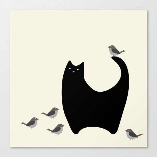 Bird Watching Canvas Print