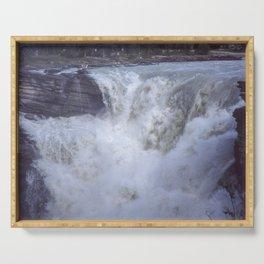Athabasca Falls 7 Serving Tray