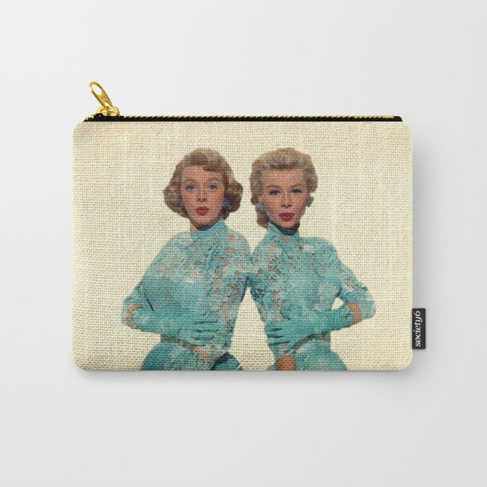 Two Different Faces... (Sisters) Carry-All Pouch