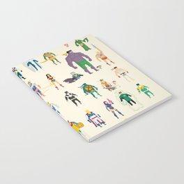 Pixel Nostalgia Notebook