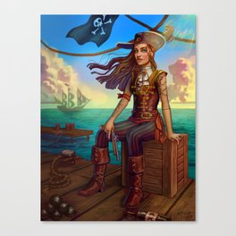Pirate Commission Canvas Print