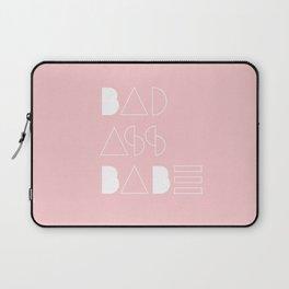 Bad Ass Babe Laptop Sleeve