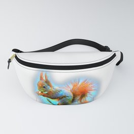 Squirrel in modern style Fanny Pack
