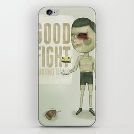 GO THE DISTANCE iPhone Skin