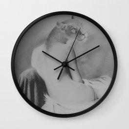 She had pride Wall Clock