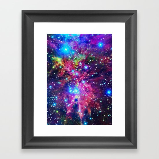 Astral Nebula Framed Art Print