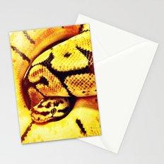 Lemon Python Stationery Cards