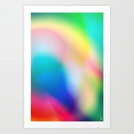 Colorful Memory Art Print