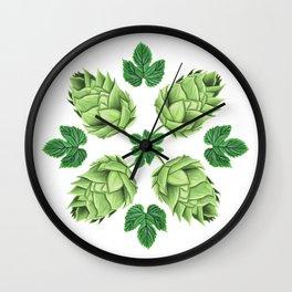 Beep Hops Medallion Wall Clock