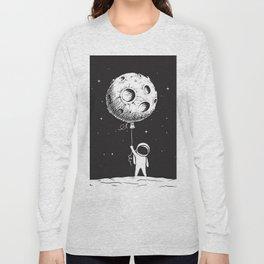 Fly Moon Long Sleeve T-shirt